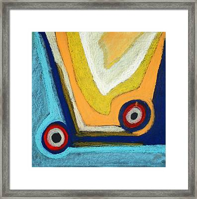 Abstract 54 Framed Print by Sandra Conceicao