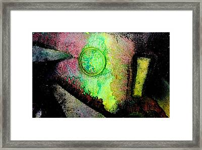 Abstract 59 Framed Print by John  Nolan