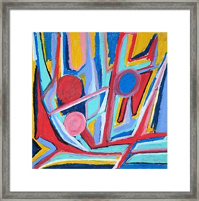 Abstract 59 Framed Print by Sandra Conceicao