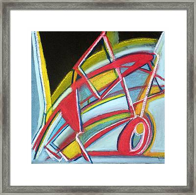 Abstract 8 Framed Print by Sandra Conceicao