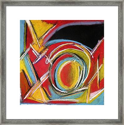 Abstract 9 Framed Print by Sandra Conceicao