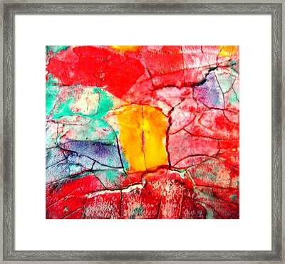 Abstract Accent 2 Framed Print