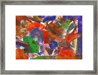 Abstract - Acrylic - Synthesis Framed Print by Mike Savad
