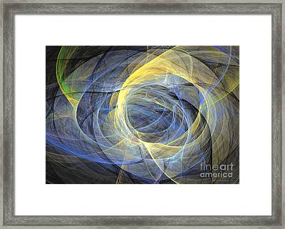 Abstract Art - Delightful Mood Of Abstracted Mind Framed Print by Abstract art prints by Sipo