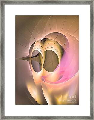 Abstract Art - Dies Laetitiae Framed Print by Abstract art prints by Sipo