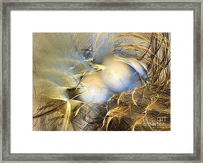 Abstract Art - Far From The Treacherous World Framed Print by Abstract art prints by Sipo