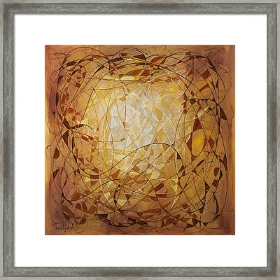Abstract Art Eleven Framed Print