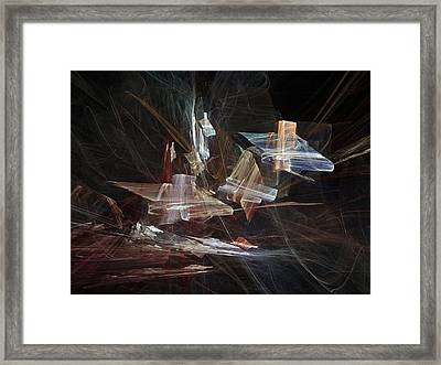 Abstract Artwork Framed Print by Laguna Design