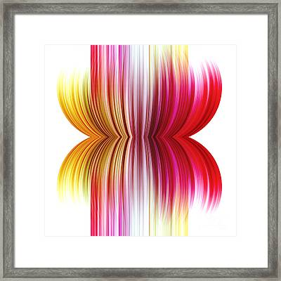 Abstract Background Framed Print by Blink Images