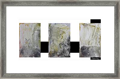 Abstract Collage Framed Print by Xoanxo Cespon
