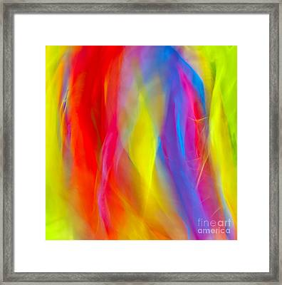 Abstract Colorful Background  Framed Print by Anna Om
