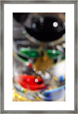 Framed Print featuring the photograph Abstract Colors by Lynnette Johns