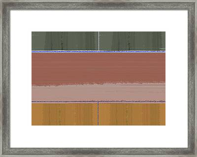Abstract Day Framed Print