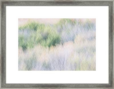 Abstract Desert Framed Print by