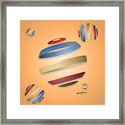 Abstract Design 9 Framed Print by Anthony Caruso