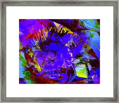 Abstract Dreams Framed Print by Doris Wood