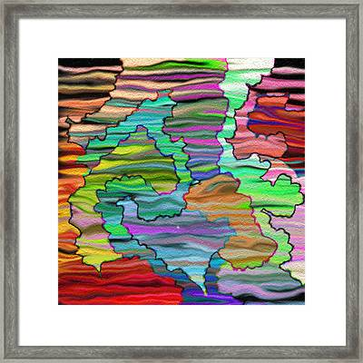 Abstract Emotions  Framed Print