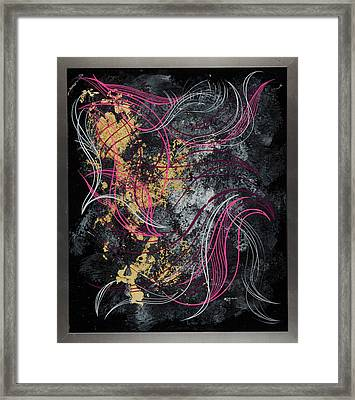Abstract Feelings Framed Print