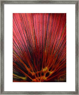 Abstract Flash 1.1 Framed Print