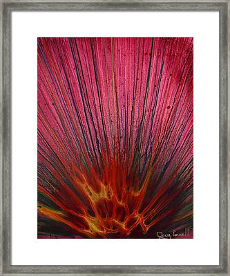 Abstract Flash 1.2 Framed Print