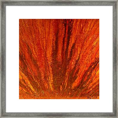 Abstract Flash 2.1 Framed Print