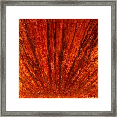 Abstract Flash 2.2 Framed Print