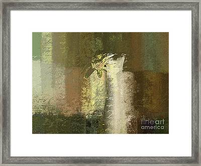 Abstract Floral 04v2g Framed Print by Variance Collections