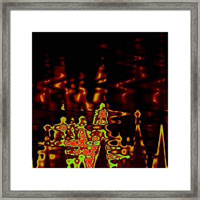 Abstract Fractals 2 Framed Print by Steve K
