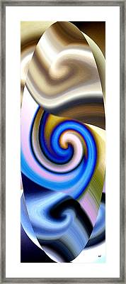 Abstract Fusion 114 Framed Print by Will Borden
