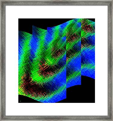 Abstract Fusion 130 Framed Print by Will Borden