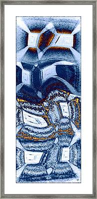 Abstract Fusion 137 Framed Print by Will Borden