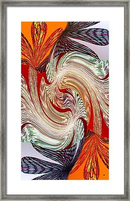 Abstract Fusion 148 Framed Print by Will Borden