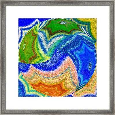 Abstract Fusion 155 Framed Print by Will Borden