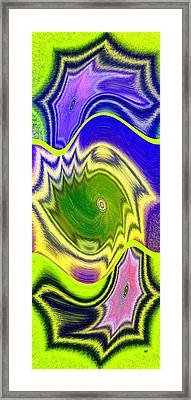 Abstract Fusion 157 Framed Print by Will Borden
