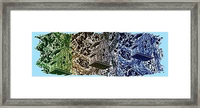 Abstract Fusion 160 Framed Print by Will Borden