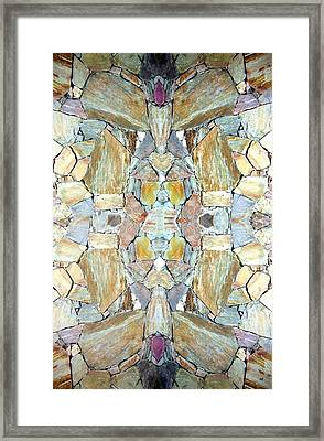 Abstract Fusion 67 Framed Print by Will Borden