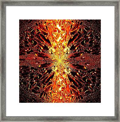 Abstract Fusion 73 Framed Print by Will Borden
