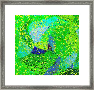 Abstract Fusion 81 Framed Print by Will Borden
