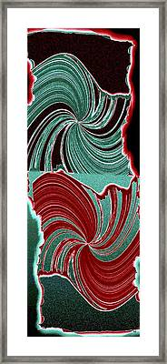Abstract Fusion 88 Framed Print by Will Borden