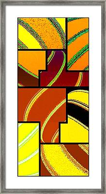 Abstract Fusion 92 Framed Print by Will Borden