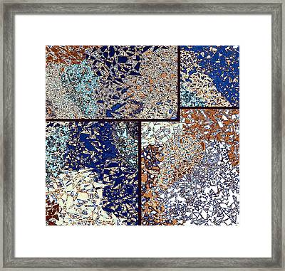 Abstract Fusion 95 Framed Print by Will Borden