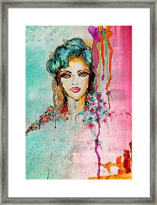 Abstract Framed Print by Genesis Garcia