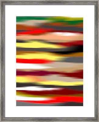 Abstract IIi Framed Print