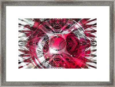 Abstract Image Framed Print