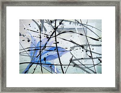 Abstract Impressionist Framed Print
