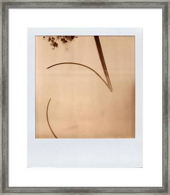Abstract Instant 1 Framed Print by Julie VanDore