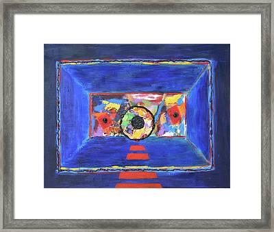 Abstract Interior Framed Print