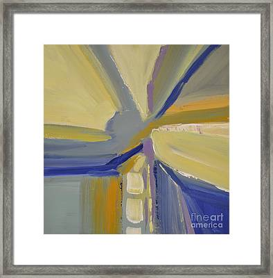 Abstract Intersection Framed Print