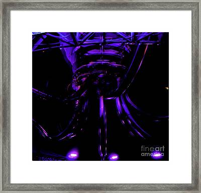 Framed Print featuring the photograph Abstract Invader by Clayton Bruster