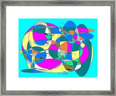 Abstract Framed Print by Jerry Conner